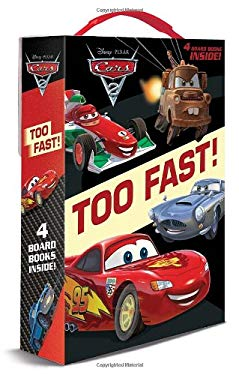Cars 2: Too Fast! Boxed Set