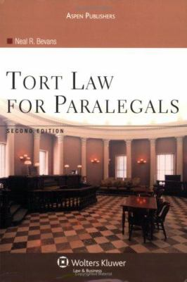 Tort Law for Paralegals 9780735558373