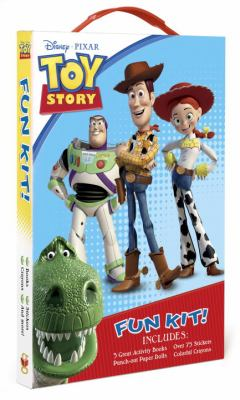 Toy Story Fun Kit! [With Sticker(s) and Crayons and Punch-Out(s) and 3 Paperbacks] 9780736426992
