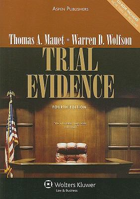 Trial Evidence [With CDROM] 9780735577237