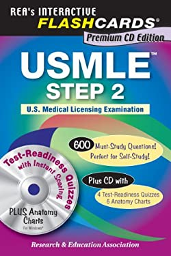 USMLE Step 2 Premium Edition Flashcard Book W/CD-ROM 9780738604701