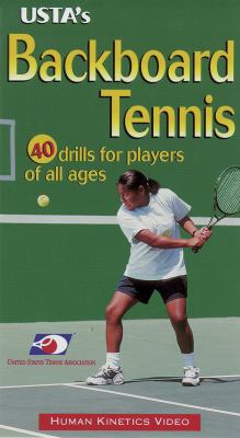 USTA's Backboard Tennis Ntsc Video 9780736000413