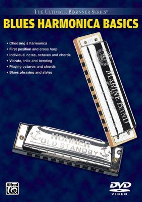 Ultimate Beginner Blues Harmonica Basics, Vol 1 & 2: DVD 9780739040362