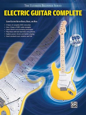 Ultimate Beginner Electric Guitar Complete: Book & DVD (Hard Case) 9780739056165
