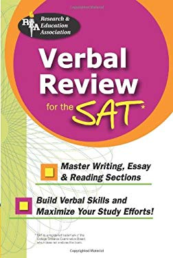 Verbal Review for the SAT 9780738600857