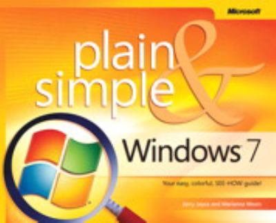 Windows 7 Plain & Simple 9780735626669
