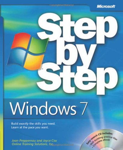Windows 7 Step by Step 9780735626676