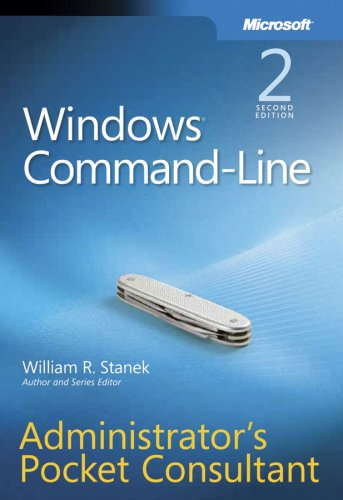 Windows Command-Line Administrator's Pocket Consultant 9780735622623