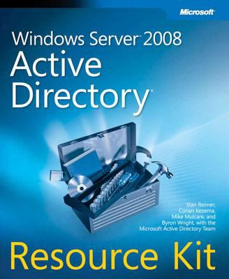 Windows Server 2008 Active Directory Resource Kit [With CDROM] 9780735625150