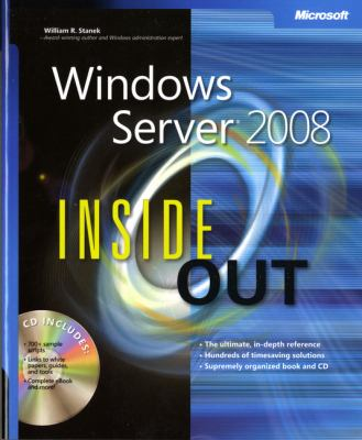 Windows Server 2008 Inside Out [With CDROM]