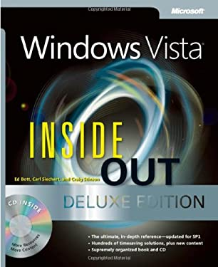 Windows Vista Inside Out [With CDROM] 9780735625242