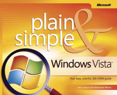 Windows Vista Plain & Simple 9780735622685
