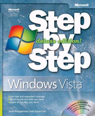 Windows Vista Step by Step [With CDROM] 9780735625327