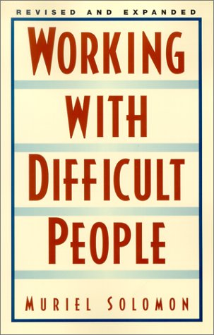 Working with Difficult People Revised 9780735202917