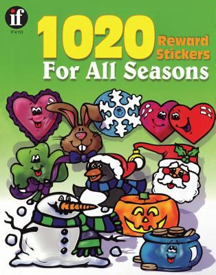 1020 Reward Stickers for All Seasons 9780742409637