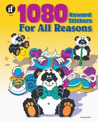 1080 Reward Stickers for All Reasons, Grades 1 - 6 9780742409651