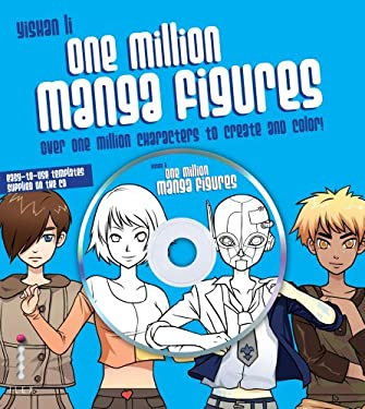 One Million Manga Characters: Over One Million Characters to Create and Color 9780740797552