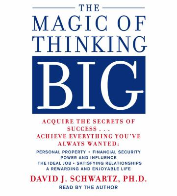The Magic of Thinking Big 9780743529037