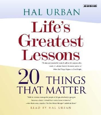 Life's Greatest Lessons: 20 Things That Matter 9780743536363