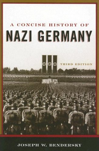 A Concise History of Nazi Germany 9780742553637