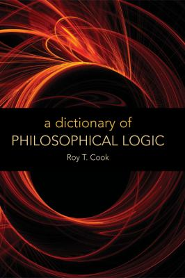 A Dictionary of Philosophical Logic 9780748625598