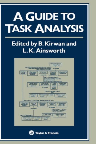 A Guide to Task Analysis: The Task Analysis Working Group 9780748400584