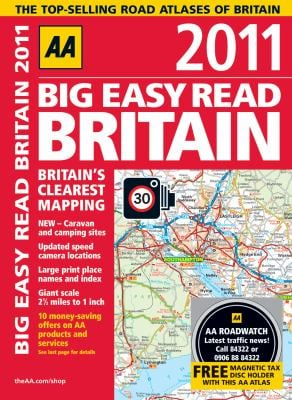 AA Big Easy Read Britain 2011 9780749566135