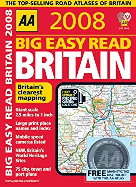 AA Big Easy Read Britain [With Magnetic Tax Disc Holder] 9780749552596