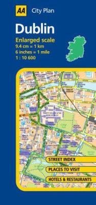 AA City Plan: Dublin 9780749547981