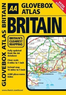 AA Glovebox Atlas Britain 9780749554293
