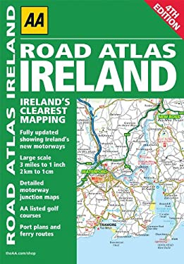 AA Road Atlas Ireland 9780749565398