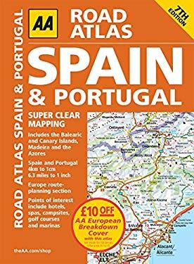 AA Road Atlas Spain & Portugal 9780749564148
