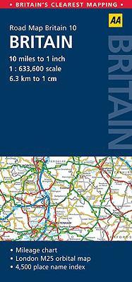 AA Road Map Britain: Britain 9780749560737