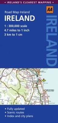 AA Road Map Ireland 9780749565404