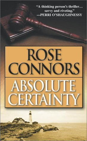 Absolute Certainty: A Crime Novel 9780743448819