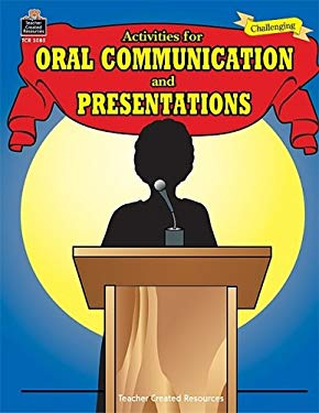Activities for Oral Communication and Presentations 9780743930857