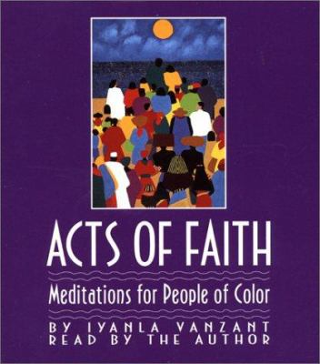 Acts of Faith: Meditations for People of Color 9780743504034