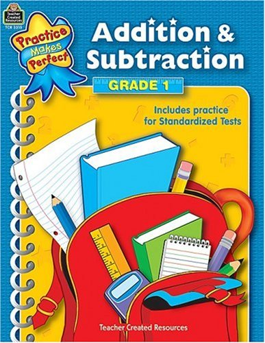 Addition & Subtraction Grade 1 9780743933155