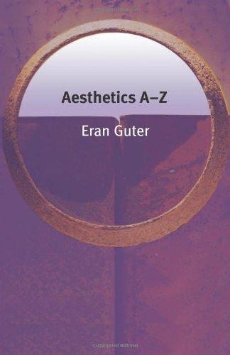 Aesthetics A-Z 9780748623402