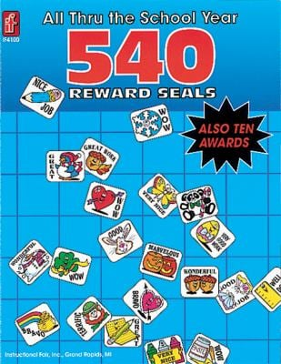 All Thru the School Year: 540 Reward Seals 9780742409606