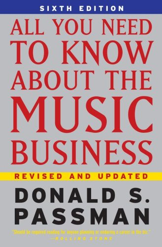 All You Need to Know about the Music Business 9780743293181