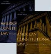 American Constitutional Law: Liberty, Community, and the Bill of Rights 9780742526938