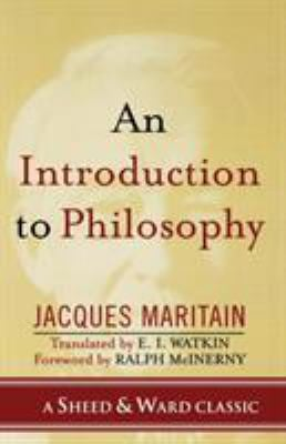 An Introduction to Philosophy 9780742550537