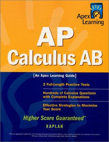 Apex AP Calculus AB 9780743201896