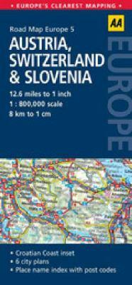 AA Austria, Switzerland & Slovenia 9780749568399
