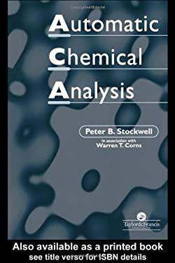 Automatic Chemical Analysis: Second Edition - 2nd Edition