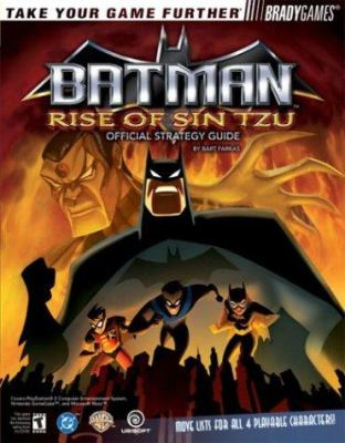 Batman: Rise of Sin Tzu Official Strategy Guide