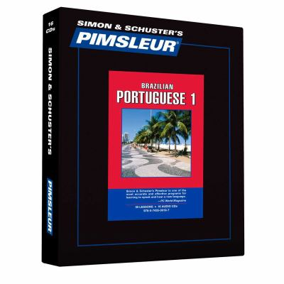 Portuguese (Brazilian) I, Comprehensive: Learn to Speak and Understand Brazilian Portuguese with Pimsleur Language Programs 9780743500197