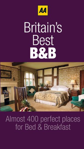 AA Britain's Best B&B's 9780749567873