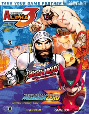 Capcoma Game Boya Advance Combo Official Strategy Guide 9780744002164